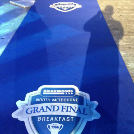 North Melbourne AFL Grand Final Breakfast.